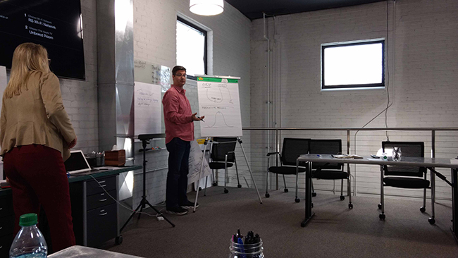 CIE Board Meeting at Think Space of Lansing, Michigan